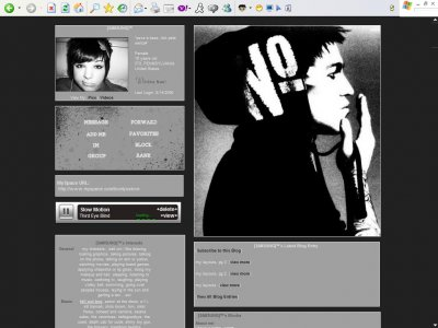 Myspace layouts standard